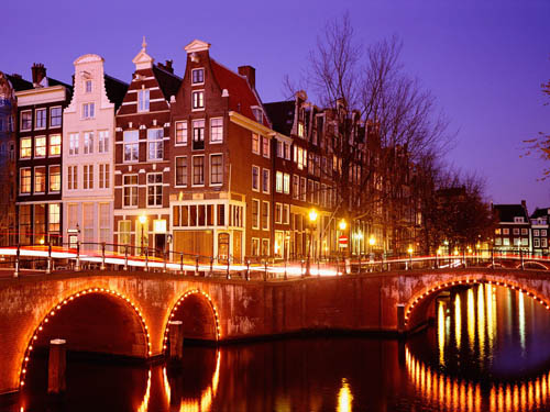Om Amsterdam i Nederland
