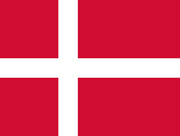 danmark flagg